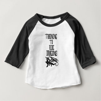 Opleiding om Draken te berijden Baby T Shirts