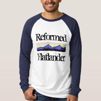 Opnieuw gevormde Flatlander T Shirt