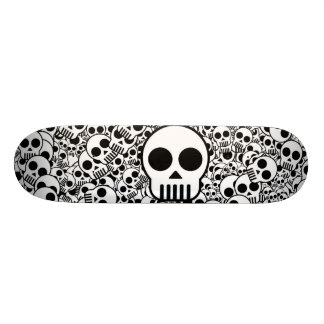 Oppervlakte van de Textuur van de schedel de 18,4 Cm Mini Skateboard Deck