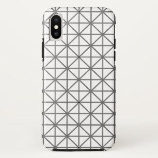 optische illusie achtergrondpatroontextuur geomet iPhone x hoesje