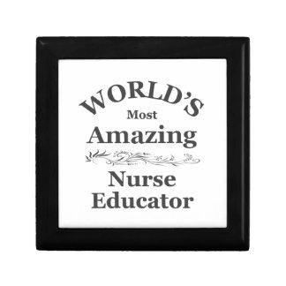 Opvoeder van de Verpleegster van de wereld de mees Decoratiedoosje