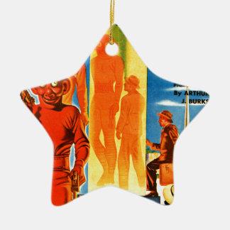 Opwindende Wonder Verhalen -- Toekomstige Keramisch Ster Ornament