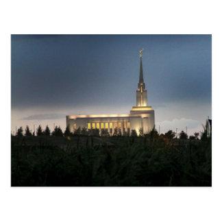 oquirrh berg lds Utah tempel Briefkaart
