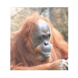 Orangoetan Notitieblok
