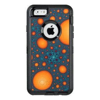 Oranje bellen OtterBox defender iPhone hoesje