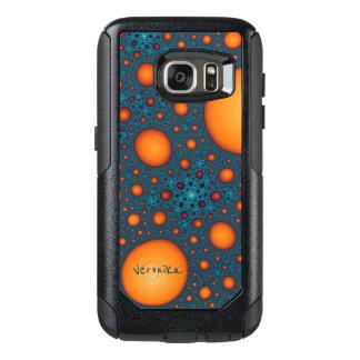 Oranje bellen OtterBox samsung galaxy s7 hoesje
