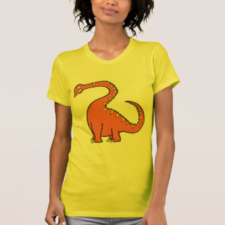 Oranje Diplodocus T Shirt