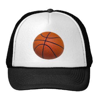 Oranje en Zwart Basketbal Mesh Petten