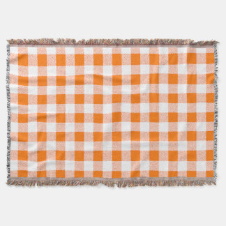 oranje gingangcontrole deken