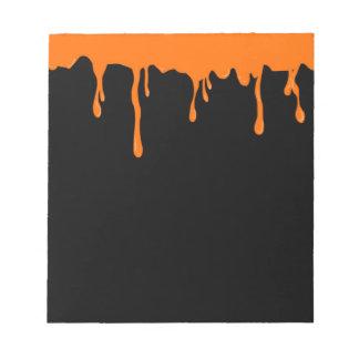 Oranje Goo Notitieblokken