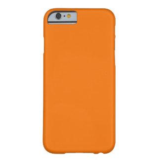Oranje iPhone 6 identiteitskaart van de hoesjeDoua