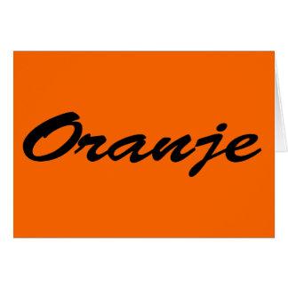 Oranje Kaarten