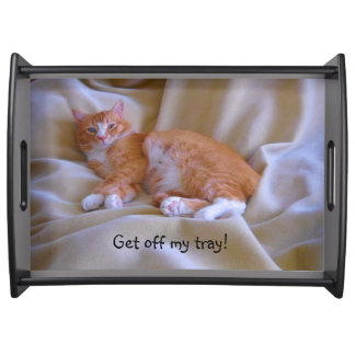 Oranje Kat Dienblad