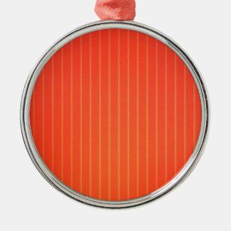 Oranje LEIDENE lamp Zilverkleurig Rond Ornament