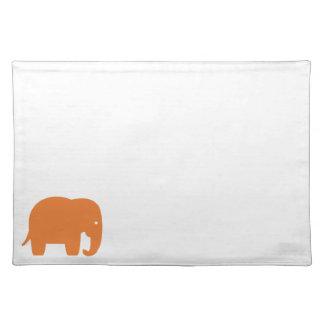 oranje olifant placemat