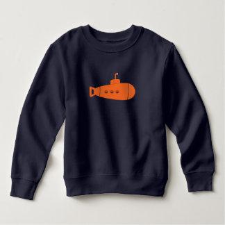 Oranje Onderzeeër Kinder Fleece