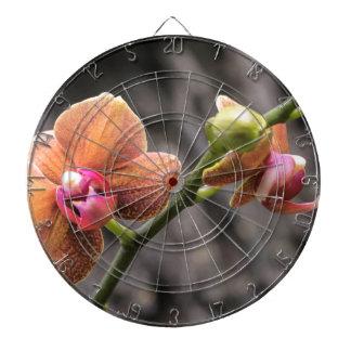 Oranje Orchidee Dartbord