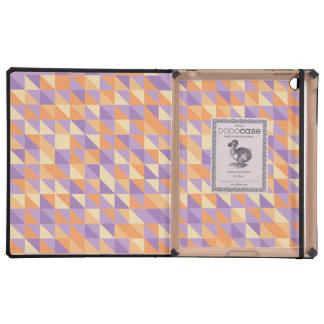 Oranje Paars van de Citroen van de Driehoek van he iPad Cases