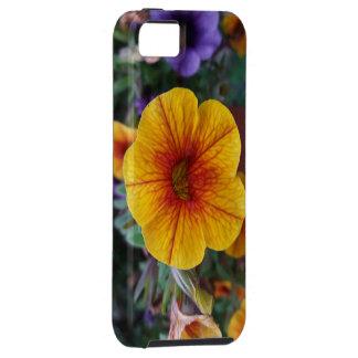 Oranje Petunia Tough iPhone 5 Hoesje