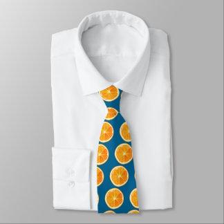oranje plak persoonlijke stropdassen
