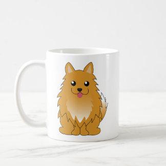 Oranje Pomeranian Koffiemok