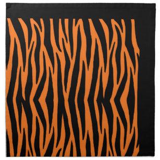 Oranje Tijger/de Gestreepte Servetten van Strepen