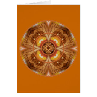 Oranje u blije Sacral Chakra Kaart