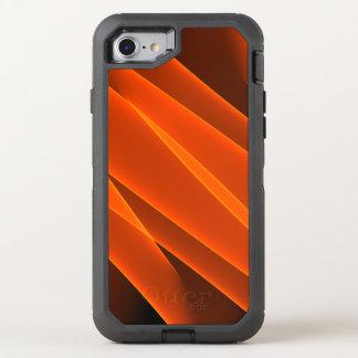Oranje Vlammen OtterBox Defender iPhone 8/7 Hoesje