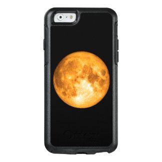 oranje volle maan OtterBox iPhone 6/6s hoesje