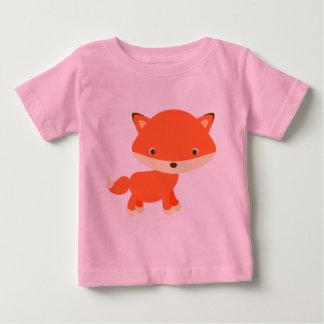 Oranje vos baby t shirts