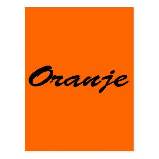 Oranje Wens Kaart
