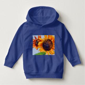 Oranje Zonnebloemen Hoodie