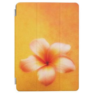 Oranjegele Tropische Plumeria Hawaiiaan iPad Air Cover
