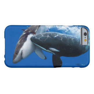 Orca attacks white shark barely there iPhone 6 hoesje