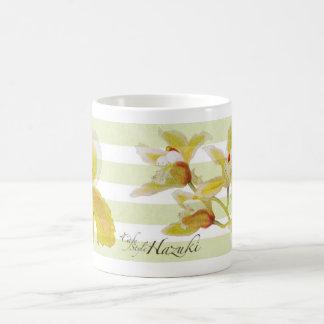 orchidee mok met koffiehazuki logo2