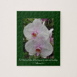 Orchidee - Roze Bloesem (2:3 Colossians) Legpuzzel