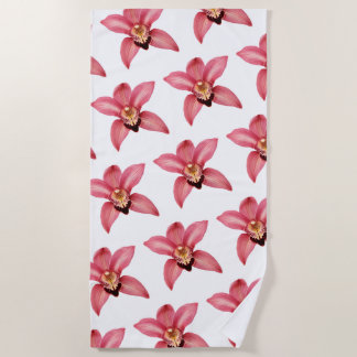 Orchideeën Strandlaken