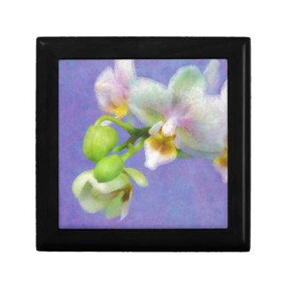 Orchideeën Vierkant Opbergdoosje Small