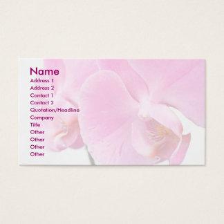 Orchideeën Visitekaartjes