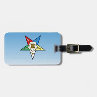 Orde OES van het Oostelijke Blauw van de Ster Kofferlabel
