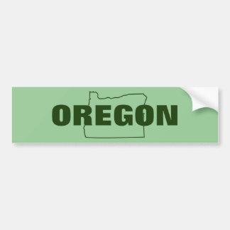 Oregon Bumpersticker