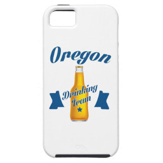 Oregon dat team drink tough iPhone 5 hoesje
