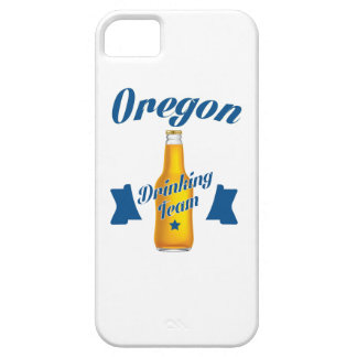 Oregon die team drink barely there iPhone 5 hoesje