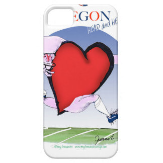 Oregon hoofdhart, tony fernandes barely there iPhone 5 hoesje