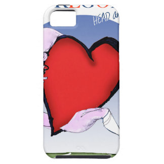 Oregon hoofdhart, tony fernandes tough iPhone 5 hoesje