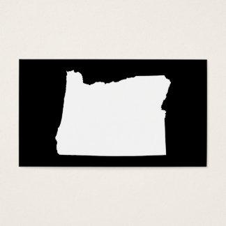 Oregon in Wit en Zwart Visitekaartjes