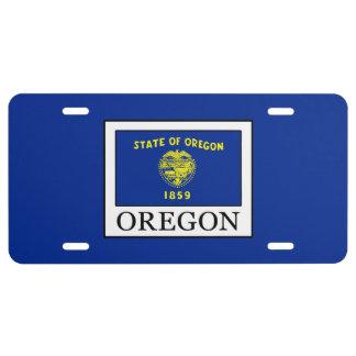 Oregon Nummerbord
