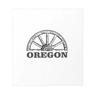 Oregon sleep eenvoudig wiel notitieblok
