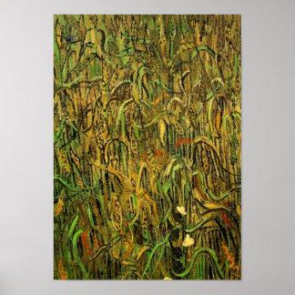 Oren van Wheat Van Gogh Fine Art. Poster