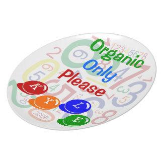 Organisch slechts tevreden melamine+bord